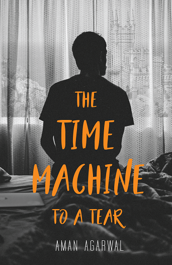 The Time Machine to a Tear Front Cover-01